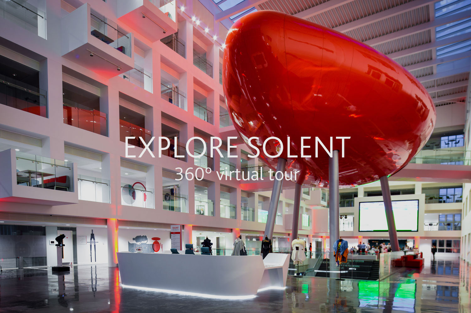 Solent University virtual tour image